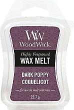 Voňavky, Parfémy, kozmetika Aromatický vosk - WoodWick Wax Melt Dark Poppy