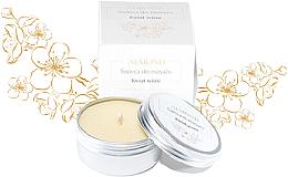 """Voňavky, Parfémy, kozmetika Masážna sviečka """"Višňový kvet"""" - Almond Cosmetics Cherry Blossom Massage Candle"""