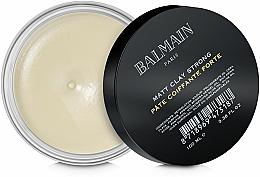 Voňavky, Parfémy, kozmetika Zmatňujúca hlina silnej fixácie - Balmain Matt Clay Strong