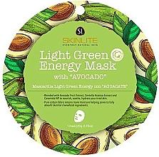 Voňavky, Parfémy, kozmetika Energizujúca pleťová maska - Skinlite Light Green Energy Mask