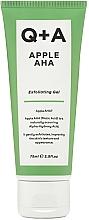 Voňavky, Parfémy, kozmetika Exfoliačný gél na tvár - Q+A Apple AHA Exfoliating Gel