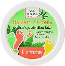 Voňavky, Parfémy, kozmetika Balzam na nohy - Bione Cosmetics Cannabis Heel Balm Removes Hard Skin