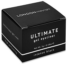 Voňavky, Parfémy, kozmetika Očná linka - London Copyright Ultimate Gel Eyeliner