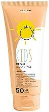 Voňavky, Parfémy, kozmetika Detský ochranný proti slnku krém na tvár a telo - Oriflame Sun 360 Kids Cream SPF 50