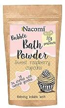"""Voňavky, Parfémy, kozmetika Púder pre kúpeľ """"Sladké malinové košíčky"""" - Nacomi Sweet Raspberry Cupcake Bath Powder"""