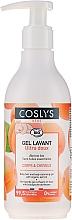Voňavky, Parfémy, kozmetika Detský čistiaci gél na vlasy a telo s organickou marhuľou - Coslys Baby Care Baby Cleansing Gel-Hair & BodyWith Organic Apricot