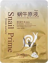 Voňavky, Parfémy, kozmetika Látková maska na tvár s hlienom slimáka - Bioaqua Snail Prime