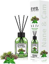"""Voňavky, Parfémy, kozmetika Aromatický difúzor """"Mäta"""" - Eyfel Perfume Reed Diffuser Mint"""