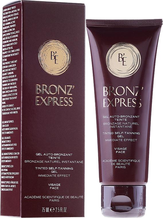 Tónovací gél na tvár - Academie Bronz'Express Gel — Obrázky N1