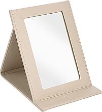 Voňavky, Parfémy, kozmetika Kozmetické skladacie zrkadlo, béžové - MakeUp Tabletop Cosmetic Mirror Beige