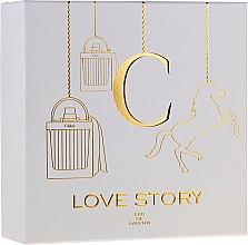 Voňavky, Parfémy, kozmetika Chloe Love Story - Sada (edp/50ml + b/lot/100ml)