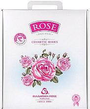 """Darčeková súprava pre ženy """"Rose"""" - Bulgarian Rose (cr/50ml + cr/50ml + micel wather/150ml + gel/150ml + soap/100g) — Obrázky N1"""
