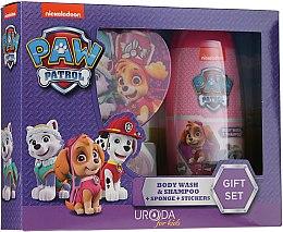 Voňavky, Parfémy, kozmetika Sada - Uroda Paw Patrol Girl (sh/gel/250ml + sponge + stickers)