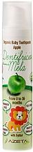 """Voňavky, Parfémy, kozmetika Detská zubná pasta """"Jablko"""" - Azeta Bio Organic Baby Toothpaste Apple"""