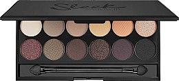 Voňavky, Parfémy, kozmetika Paleta očných tieňov - Sleek MakeUP i-Divine Mineral Based Eyeshadow Palette Au Naturel