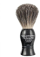 Voňavky, Parfémy, kozmetika Štetka na holenie, čierna - Taylor of Old Bond Street Shaving Brush Pure Badger size S