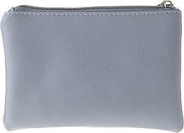 """Kozmetická taška """"Leather"""", 96969, sivá - Top Choice — Obrázky N2"""