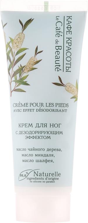 Krém na nohy s deodorizačným účinkom - Le Cafe de Beaute Foot Cream