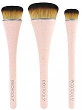 Voňavky, Parfémy, kozmetika Sada štetcov na líčenie, 3 ks - EcoTools 360 Ultimate Blend