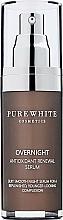 Voňavky, Parfémy, kozmetika Nočné sérum na tvár - Pure White Cosmetics Overnight Antioxidant Renewal Serum