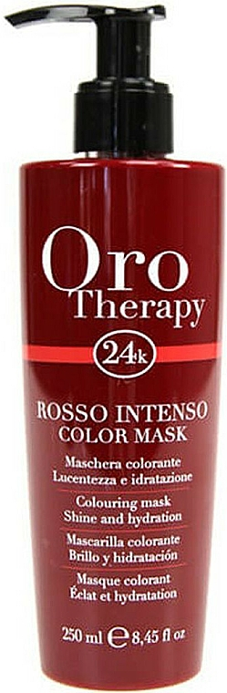 """Tónovacia maska na vlasy """"Červená"""" - Fanola Oro Therapy Colouring Mask"""