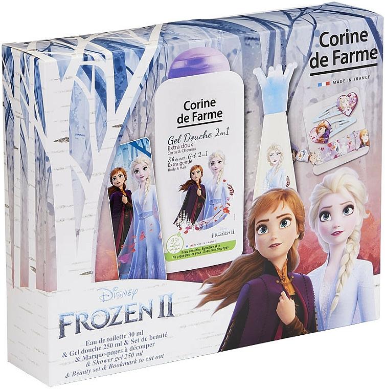 Corine De Farme Disney Frozen 2 - Sada (edt/30ml + sh/gel/250ml + accessories)