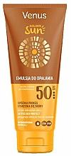Voňavky, Parfémy, kozmetika Ochranný telový lotion s SPF 50 - Venus Golden Sun Lotion SPF 50