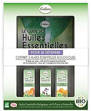 """Voňavky, Parfémy, kozmetika Sada éterických olejov """"Relax"""" - Galeo To Help You Relax Gift Set (ess/oil/3x10ml)"""