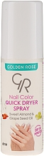Voňavky, Parfémy, kozmetika Sušiaci sprej na nechty - Golden Rose Nail Quick Dryer Spray