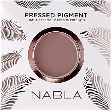Voňavky, Parfémy, kozmetika Matný očný tieň - Nabla Pressed Pigment Feather Edition Matte Refill Eyeshadow (výmenný blok)