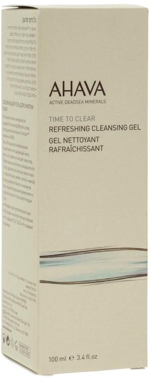 Čistiaci gél na tvár - Ahava Time to Clear Refreshing Cleansing Gel — Obrázky N1