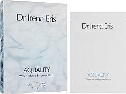 Voňavky, Parfémy, kozmetika Hydratačná maska na tvár - Dr. Irena Eris Aquality Water-Infused Essential Mask