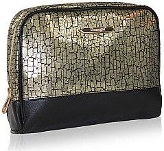 Voňavky, Parfémy, kozmetika Kozmetická taška 4971, čierno-zlatá - Donegal