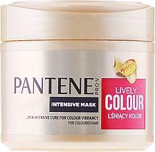 """Voňavky, Parfémy, kozmetika Intenzívna maska """"Ochrana farby a lesku"""" - Pantene Pro-V Lively Colour"""