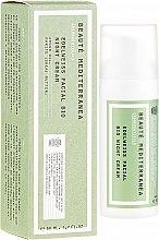 Voňavky, Parfémy, kozmetika Nočný krém na tvár s extraktom z plesnivca - Beaute Mediterranea Edelweiss Facial Bio Night Cream