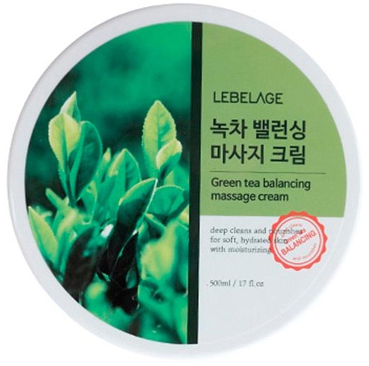 Vyvažujúci masážny krém so zeleným čajom - Lebelage Green Tea Balancing Massage Cream — Obrázky N1