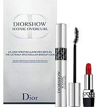 Voňavky, Parfémy, kozmetika Sada - Dior Diorshow Iconic Overcurl Gift Set (mascara/10ml+lip/stick/1,5g)