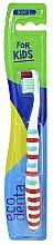 Voňavky, Parfémy, kozmetika Detská zubná kefka, mäkká, biela - Ecodenta Soft Toothbrush For Children