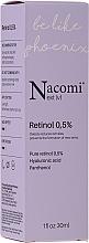 Nočné sérum na tvár s retinolom - Nacomi Next Level Retinol 0,5% — Obrázky N1