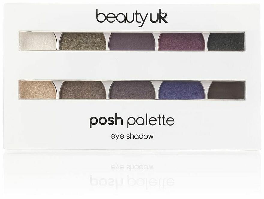 Paleta očných tieňov - Beauty UK Posh Eye Shadow Palette (01 -Eden)