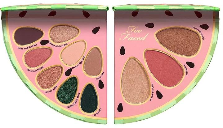 Paletka na tvár a očný make-up - Too Faced Watermelon Slice Face & Eye Make-Up Palet