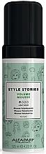 Voňavky, Parfémy, kozmetika Mušt pre objem vlasov s ľahkou fixáciou - Alfaparf Milano Style Stories Volume Mousse