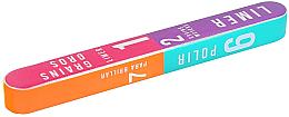 Voňavky, Parfémy, kozmetika 7-stranný nechtový buff 178x22x16mm - Tools For Beauty 7-way Nail Buffer Block