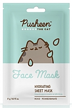 Voňavky, Parfémy, kozmetika Hydratačná maska na tvár - Pusheen The Cat Hydrating Sheet Mask