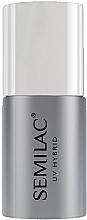 Voňavky, Parfémy, kozmetika Vrchný lak na UV laky na nechty bez lepkavej vrstvy - Semilac Top No Wipe Sparkle Diamond