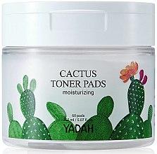Voňavky, Parfémy, kozmetika Hydratačné obrúsky na tvár s kaktusom - Yadah Cactus Moisturizing Toner Pads
