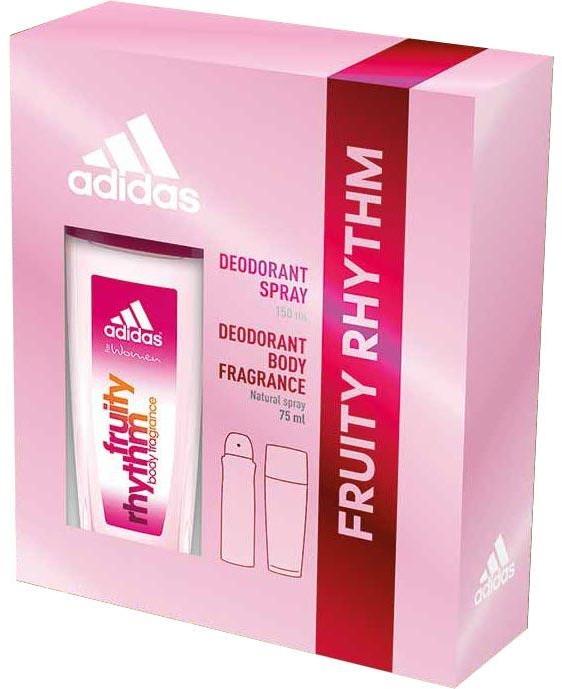 Adidas Fruity Rhythm - Sada (deo/spray/75ml+deo/150ml)
