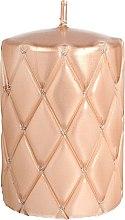 Voňavky, Parfémy, kozmetika Dekoratívna sviečka, 10 cm, ružovo-zlatá - Artman Florence Candle