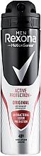 """Voňavky, Parfémy, kozmetika Deodorant-sprej """"Antibakteriálny účinok"""" - Rexona Men MotionSense Active Shield Anti-Perspirant"""