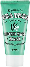 Voňavky, Parfémy, kozmetika Nočná maska z čajovníka - A'pieu Fresh Mate Tea Tree Mask